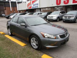 Used 2008 Honda Accord EX ~ LOW KM ~ ACCIDENT FREE ~ SAFETY INCLUDED for sale in Toronto, ON