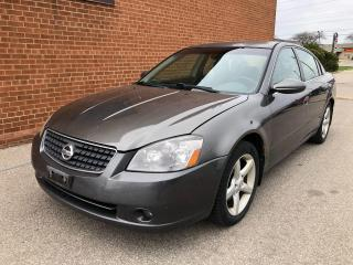 Used 2005 Nissan Altima LEATHER/ for sale in Oakville, ON