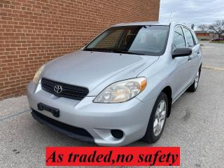 Used 2006 Toyota Matrix AUTOMATIC for sale in Oakville, ON