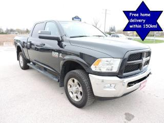 Used 2016 RAM 2500 Outdoorsman Diesel 4X4 Heated seats 125000 km for sale in Gorrie, ON