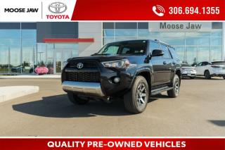 Used 2018 Toyota 4Runner SR5 TRD OFFROAD PACKAGE, HEATED LEATHER, POWER MOONROOF, NAVIGATION, BACK UP CAMERA, TOW PACKAGE for sale in Moose Jaw, SK