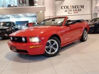 Used 2005 Ford Mustang GT CONVERTIBLE-5 SPD MANUAL-1 OWNER-NO ACCIDENTS for sale in Toronto, ON