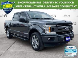 Used 2018 Ford F-150 XLT Sport 4x4/Niavi/20 Wheels/FX4 for sale in St Thomas, ON
