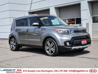 Used 2018 Kia Soul EX Premium /CPO UNIT 2.99% FINANCING AVAILABLE O.A.C/Leather Seats/Panoramic Sunroof/Blind Spot/Came for sale in Burlington, ON