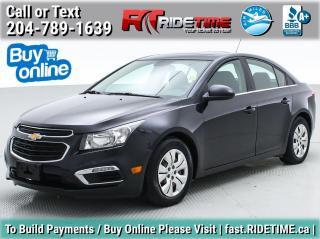 Used 2016 Chevrolet Cruze Limited LT for sale in Winnipeg, MB