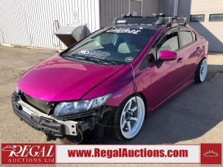 Used 2015 Honda Civic LX 4D Sedan 5SP 1.8L for sale in Calgary, AB