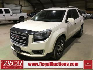 Used 2013 GMC Acadia SLT1 4D UTILITY for sale in Calgary, AB
