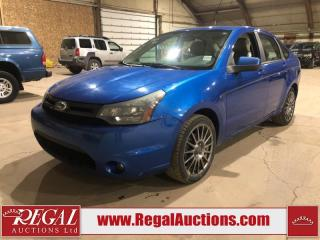 Used 2010 Ford Focus SES 4D Sedan for sale in Calgary, AB