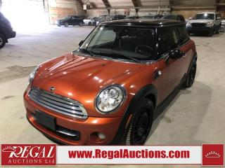 Used 2013 MINI Cooper Base 2D Hatchback for sale in Calgary, AB