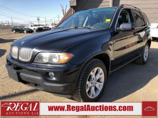 Used 2006 BMW X5 4D Utility 4.4I AWD for sale in Calgary, AB