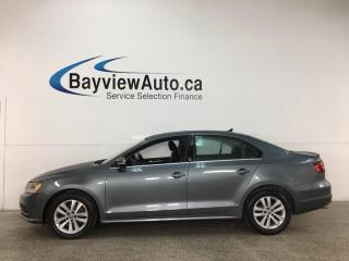 Used 2017 Volkswagen Jetta Wolfsburg Edition - 5SPD! ALLOYS! SUNROOF! PWR GROUP! for sale in Belleville, ON