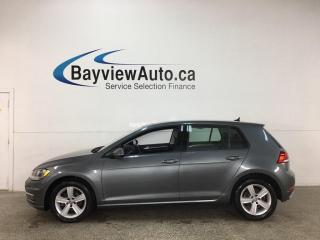 Used 2019 Volkswagen Golf 1.4 TSI Highline - HTD LEATHER! SUNROOF! AUTO! PWR GROUP! for sale in Belleville, ON