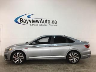 Used 2019 Volkswagen Jetta GLI - NAV! HTD LEATHER! ADAPTIVE CRUISE! LOADED! for sale in Belleville, ON