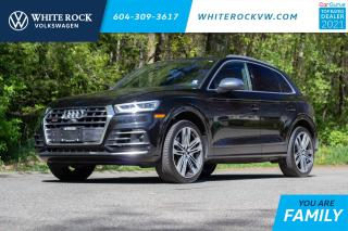 Used 2019 Audi SQ5 3.0T Technik *HEADS UP DISPLAY* *DRIVER ASSIST* *RED BRAKE CALIPERS* *LEATHER* *SUNROOF* for sale in Surrey, BC