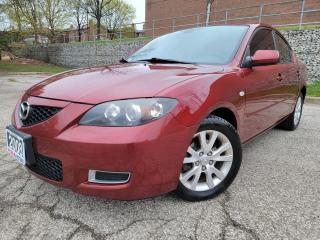 Used 2008 Mazda MAZDA3 CERTIFIED, SUNROOF, ALLOY WHEELS for sale in Mississauga, ON