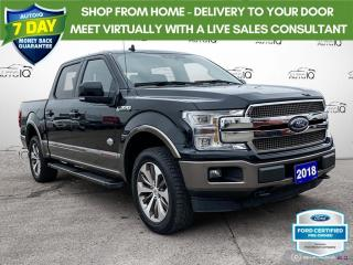 Used 2018 Ford F-150 King Ranch 4x4/Leather/Navi/Roof for sale in St Thomas, ON