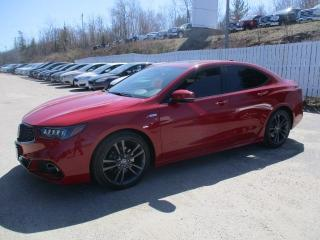 Used 2018 Acura TLX Elite A-Spec for sale in North Bay, ON