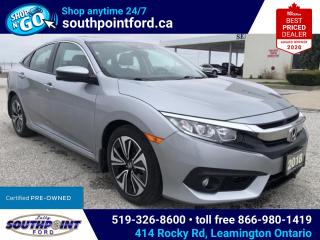 Used 2018 Honda Civic EX-T|HTD SEATS|SUNROOF|ADAPTIVE CRUISE|REMOTE START|LANE KEEPING for sale in Leamington, ON