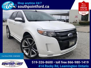 Used 2014 Ford Edge Sport SPORT|AWD|HTD SEATS|NAV|PANO ROOF for sale in Leamington, ON