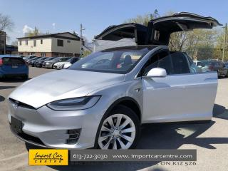 Used 2017 Tesla Model X 100D 100D! VERY LOW MILEAGE! LEATHER  ROOF  NAVI for sale in Ottawa, ON