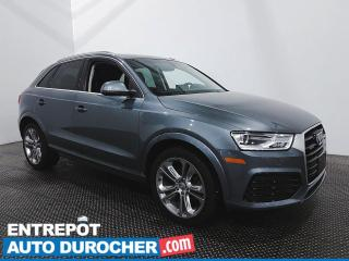 Used 2018 Audi Q3 Progressiv - AWD - Navigation - Toit Panoramique for sale in Laval, QC