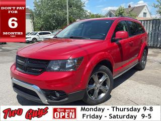 Used 2017 Dodge Journey Crossroads   7Pass   DVD   Sunroof   Nav   for sale in St Catharines, ON
