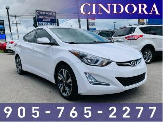 Used 2015 Hyundai Elantra GLS, Auto, Heated Seats, Sunroof for sale in Caledonia, ON