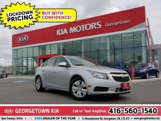 Used 2014 Chevrolet Cruze LT | BLUETOOTH | CRUISE CONTROL | POWER GROUP | for sale in Georgetown, ON