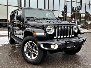 Used 2020 Jeep Wrangler Unlimited 4x4 for sale in Brampton, ON