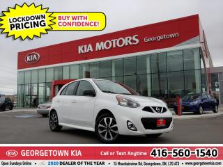 Used 2015 Nissan Micra SR | CLN CRFX | B/U CAM | B/T | ALLOYS | 24 K | for sale in Georgetown, ON