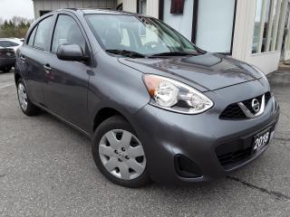 Used 2018 Nissan Micra S - BACK-UP CAM! ACCIDENT FREE! ONLY 24KM! for sale in Kitchener, ON