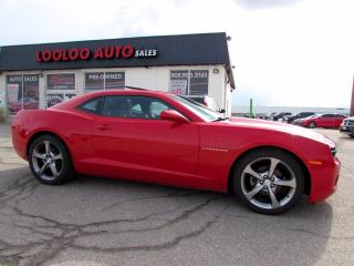 Used 2013 Chevrolet Camaro Coupe 2LT Automatic Camera Bluetooth Leather Certified for sale in Milton, ON
