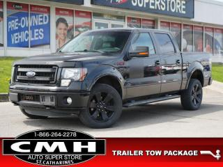 Used 2013 Ford F-150 FX4  CAM LEATH P/SEATS TOW 20-AL for sale in St. Catharines, ON