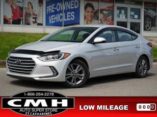 Used 2018 Hyundai Elantra GL Auto  CAM BLIND-SPOT HTD-S/W 16-AL for sale in St. Catharines, ON