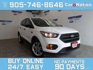 Used 2019 Ford Escape BLUETOOTH | REAR CAM | 17'' ALLOYS | NEW CAR TRADE for sale in Brantford, ON