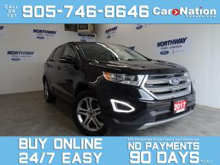 Used 2017 Ford Edge TITANIUM | V6 | PANO ROOF | LEATHER | NAV for sale in Brantford, ON