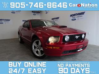 Used 2007 Ford Mustang GT | LEATHER | WOW ONLY 55 KM | UPGRADED 18'' RIMS for sale in Brantford, ON