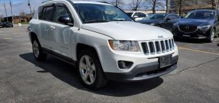 Used 2011 Jeep Compass 4X4|NAV|LEATHER|SUNROOF|1 OWNER|CLEAN CARFAX for sale in Scarborough, ON