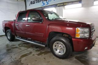 Used 2013 Chevrolet Silverado 1500 LTZ 4x4 CREW NAVI CAMERA CERTIFIED 2YR WARRANTY *NO ACCIDENT* HEAT/COOL MEMORY LEATHER SEAT for sale in Milton, ON
