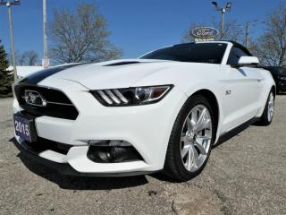 Used 2015 Ford Mustang GT Premium 50th Anniversary | Cooled Seats | Convertible | Navigation for sale in Essex, ON