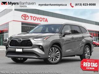 New 2021 Toyota Highlander Platinum  - Head-Up Display - $357 B/W for sale in Ottawa, ON