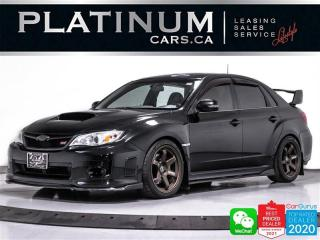 Used 2012 Subaru Impreza WRX STI LIMITED, MANUAL, MOD EXHAUST, HEATED, BT for sale in Toronto, ON