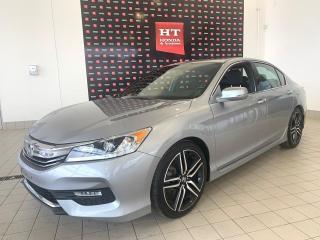 Used 2017 Honda Accord Sport Bas kilomètres certifié for sale in Terrebonne, QC