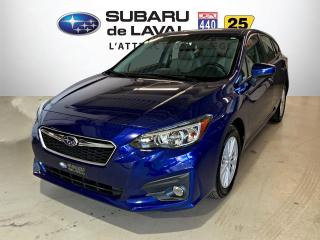Used 2017 Subaru Impreza Hatch Touring *Écran tact, Apple CarPlay for sale in Laval, QC