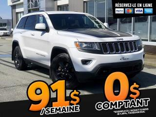 Used 2015 Jeep Grand Cherokee LAREDO      ENS. REMORQUAGE for sale in Ste-Marie, QC