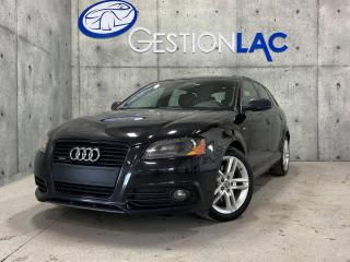 Used 2012 Audi A3 S tronic AWD  Progressiv 2.0L TURBO HATCHBACK CUIR TOIT PANO for sale in St-Nicolas, QC