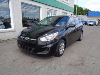 Used 2016 Hyundai Accent Voiture à hayon, 5 portes, boîte manuell for sale in St-Jérôme, QC