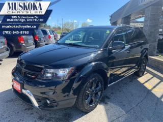 Used 2018 Dodge Journey Crossroad  - Low Mileage for sale in Bracebridge, ON