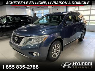 Used 2015 Nissan Pathfinder SL AWD + GARANTIE + CAMERA + CUIR + WOW for sale in Drummondville, QC