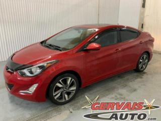 Used 2015 Hyundai Elantra GLS Toit ouvrant Mags Caméra A/C Sieges Chauffants for sale in Trois-Rivières, QC